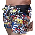 Taddlee Basic Men's Swimwear XXL Swimsuits Swim Surf Board Boxer Trunks Shorts (M)