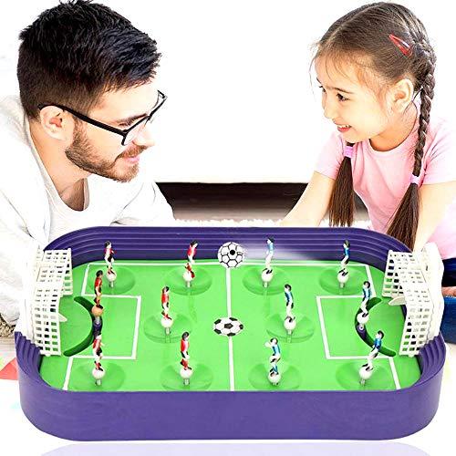 AFFC Mini Tischfußball Brettspiel Tischfußballplatz Modell Building Blocks Desktop-Heimspiel Freizeit