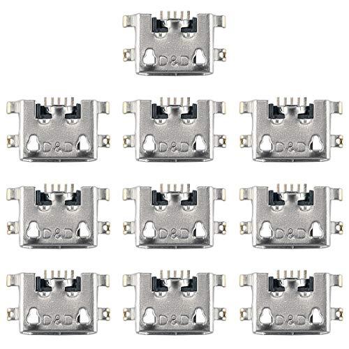 Spare Ersatz-Ersatzteile 10 Stück Ladeanschluss für Huawei Ascend Y511