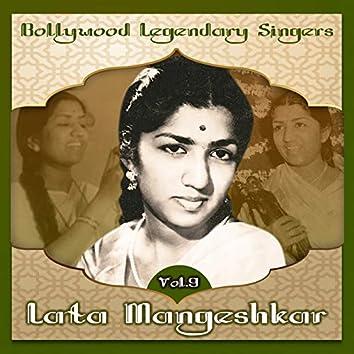 Bollywood Legendary Singers, Lata Mangeshkar, Vol. 9