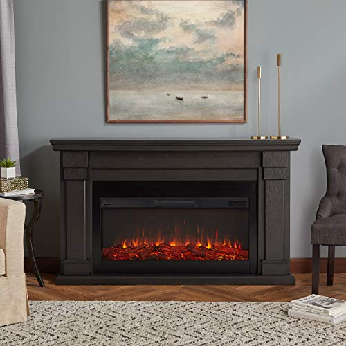 Real Flame Carlisle Electric Fireplace, Gray