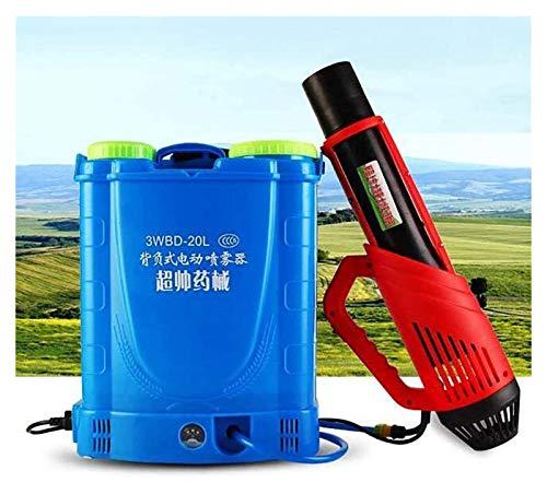 Pulverizador de mochila, atomizador, con batería de litio, pulverizador eléctrico de mochila 20L MOSQUITERO MOSQUITERO, utilizado para la desinfección de lugares públicos interiores y exteriores, agri