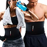 AZSPORT Waist Trimmer - Adjustable Ab Sauna Belt to shed the excess...