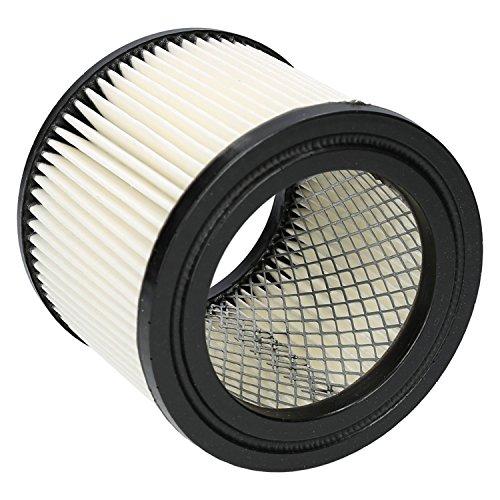 Wessper Filtro de cartucho para aspirador STANLEY STN20VS (Para uso seco)