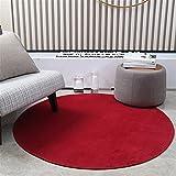 DUBENS Felpudo redondo antideslizante absorbente, alfombra de...
