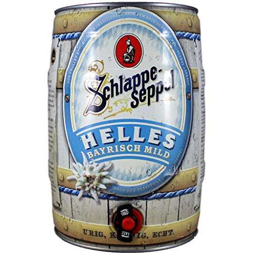 Schlappeseppel Helles 5l Fass/Dose