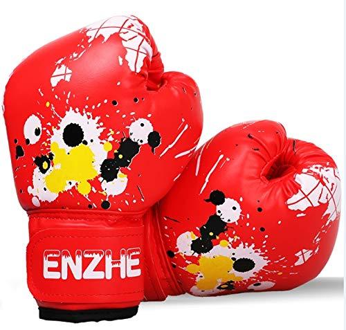 xmwm - Guantes de Boxeo para niños de 6 onzas, Guantes de...