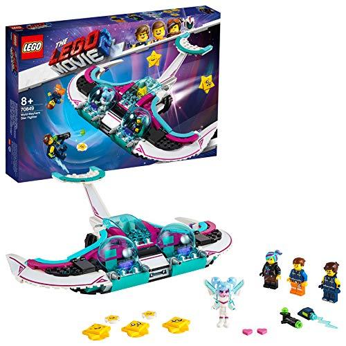 LEGO Movie - Caza Estelar Súper-Caos, Nuevo juguete de construcción de Nave Espacial Basado en la Película de LEGO (70849)