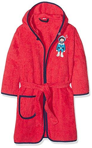 Playshoes jongens badstof duikers badjas, rood (rood 8), 98