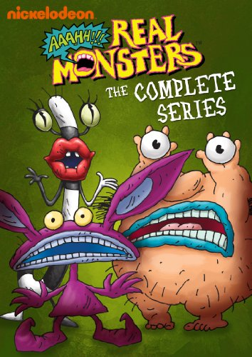 Amazon.com: Aaahh!!! Real Monsters: The Complete Series: Charlie Adler,  Christine Cavanaugh, Gregg Berger, Tim Curry, David Eccles, James Belushi,  Gabor Csupo, Peter Gaffney: Movies & TV