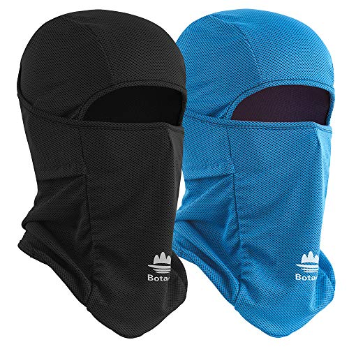 Botack Balaclava Face Mask Sun UV Protection Breathable Full Head Mask for Men Women Cycling