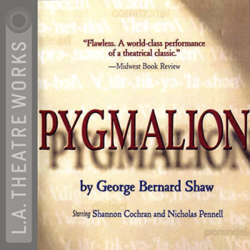 Pygmalion audiobook cover art