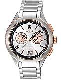 Tous Reloj ST 41 SS/IPRG CRONO ESF Silver Brazalete Ref:900350275 (Cuarzo Suizo)