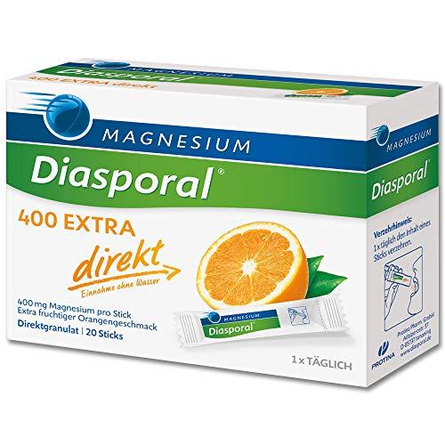 MAGNESIUM MAGNESIUM DIASPORAL 400 Extra direkt Granulat - 20 St Granulat 0840241