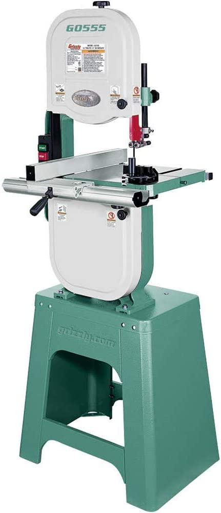 Grizzly G0555 The San Jose Mall Japan Maker New Ultimate Bandsaw 14-Inch