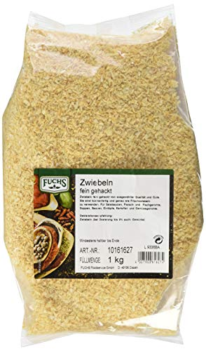 Fuchs Zwiebeln weiß fein Gehackt (1 x 1 kg)