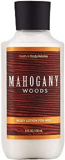 Bath & Body Works Mahogany Woods Body Lotion, 8 Ounce