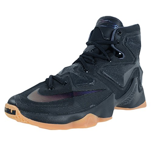 Nike Men's Lebron XIII Black Basketball Shoe - 11 D(M) US