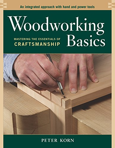 Woodworking Basics - Mastering the Essentials of Craftsmanship - An Integrated Approach With Hand and Power tools
