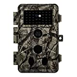 10. Meidase P50 Trail Camera (2021) 32MP 1296P Game Camera with H.264 Video Night Vision Ultra-Fast 0.1S Motion Activated for Wildlife Scouting Deer Hunting, Home Security