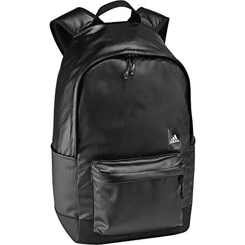 adidas Cla BP Wat-Rep, Mochila Unisex Adultos, Negro (Negro/Negro/Blanco), 36x24x45 cm (W x H x L)