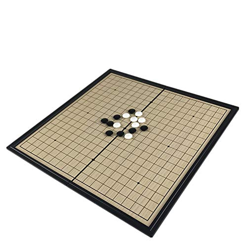 Chinese oude bordspel Weiqi Checkers klaptafel magnetische Go schaakspel magnetisch schaakspel speeltje cadeau plastic go spel voor entertainment gaming