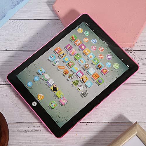 AMONIDA Juguete de la Tableta del niño, Juguete Interesante Exquisito del bebé de la educación para el bebé(Pink)