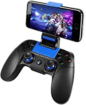 PowerLead Mobile Game Controller, PG8718 Wireless Game Controller Compatible with iOS Android iPhone iPad Samsung Galaxy (Does not Support Above iOS 13.4)