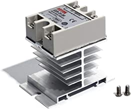 Solid State Relay and Heat Sink SSR-25 DA 25A 3-32V DC / 24-380V AC