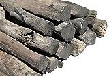 IPPINKA Kishu Pro Grade Japanese Binchotan BBQ Charcoal, 2lb of Charcoal