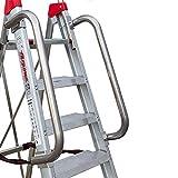 Faraone - Accesorio para Escaleras - Barandillas de Seguridad BR LADY - 250 x 10 x 25 cm - Fácil de Instalar - Muy Resistentes y Duraderas - Máxima Seguridad Garantizada, multicolor