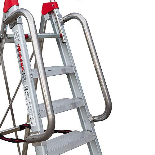 Faraone - Accesorio para Escaleras - Barandillas de Seguridad BR LADY - 250 x 10 x 25 cm - Fácil de Instalar - Muy Resistentes y Duraderas - Máxima Seguridad Garantizada