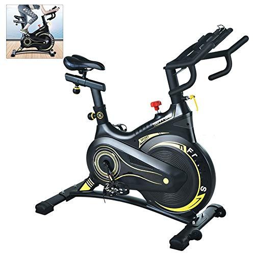 DNNAL Heimtrainer Indoor Cycling Bike Mute Smart APP Heimtrainer Abnehmen Fitnessgeräte Fettverbrennung Shaping