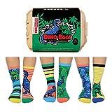 Dino Eier Oddsocks Socken in 30,5-39 im 6er Set - Strumpf