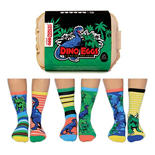 Dino Eier Oddsocks Socken in 30,5-39 im 6er Set - Strumpf