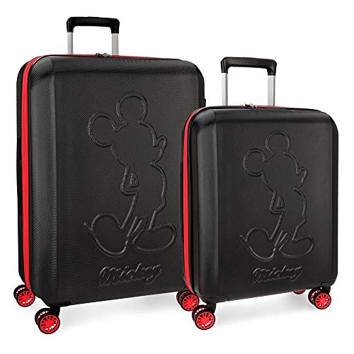 Disney Luggage Set, Black (Black), 68 centimeters