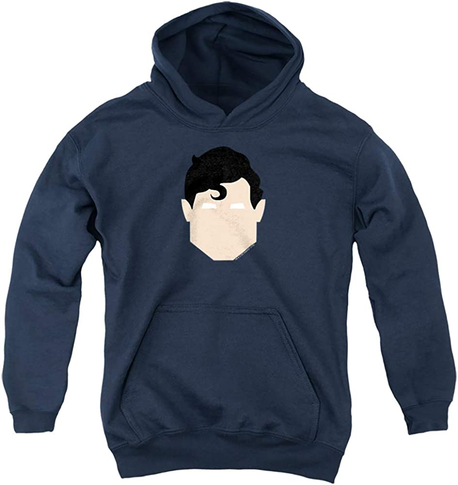 Superman Supes Head Max 80% OFF Unisex Youth Hoodie Pull-Over Regular store