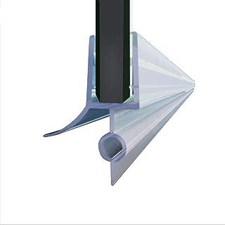 Elegant Showers 36 inch Full Length Clear Vinyl Shower Door Bottom Seal Waterproof Rail for 3/8