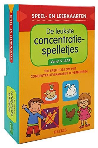 Speel- en leerkaarten - De leukste concentratiespelletjes (vanaf 5 jaar): 100 spelletjes om het concentratievermogen te verbeteren