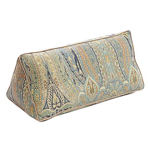 FREEDOH Respaldo De Cintura Triangular Extraíble Y Lavable, Almohada Cintura Extraíble Y Lavable Almohada para El Cuello Almohada Triangular,C,30 * 60cm