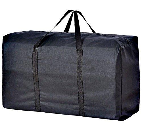Handy Storage Bag Extra Large 160L Waterproof Heavy Duty 600D Oxford Jumbo Storage Bag with Web Handle,Bedding Underbed Storage Bag,Blankets Duvet Chest,Season Laundry Organizer-Size 100*55*33CM