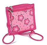 STEFANO Kinder Reisegepäck Schmetterling pink rosa -präsentiert von RabamtaGO®- (Brustbeutel...