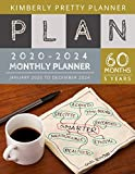 2020-2024 5 Year Monthly Planner: five year planner 2020-2024 | 60 Months Calendar, 5 Year Appointment Calendar, Business Planners, Agenda Schedule ... Journal (5 year monthly planner 2020-2024)
