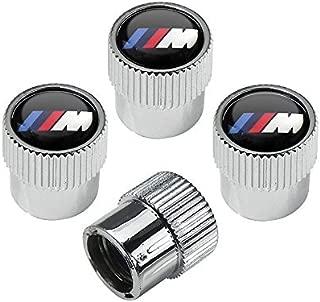 HYFML For BMW M logo zinc alloy plating chrome Tire Stem Valve Caps