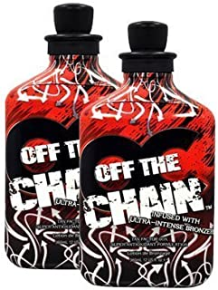 2 New OC Off the Chain Indoor Tanning Lotion Bottle Bronzer UV Bed Dark Sexy Tan