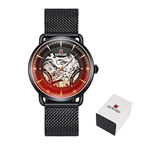 TXOZ Hombres Luminosa del Reloj Nuevo Reloj automático de l