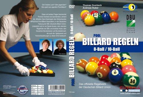 Pool Billard Regeln 8Ball / 10Ball DVD