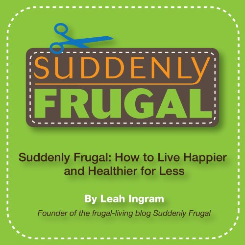 Suddenly Frugal audiobook cover art