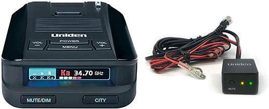 $199 » Uniden DFR8 Super Long Range Laser and Radar Detection & RDA-HDWKT Radar Detector Smart Hardwire Kit with Mute Button, LED...