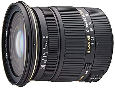 Sigma 17-50mm f/2.8 EX DC OS HSM FLD Large Aperture Standard Zoom Lens from SIGMA